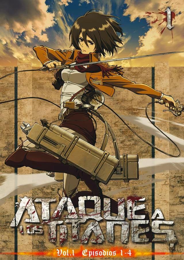 """Ataque a los Titanes"" (Shingeki no Kyojin 進撃の巨人) - serie completa."