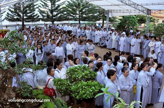 Cung tiễn Trà tỳ Kim Quan Cố HT - Thích Giác Dũng - voluongcongduc.com -01