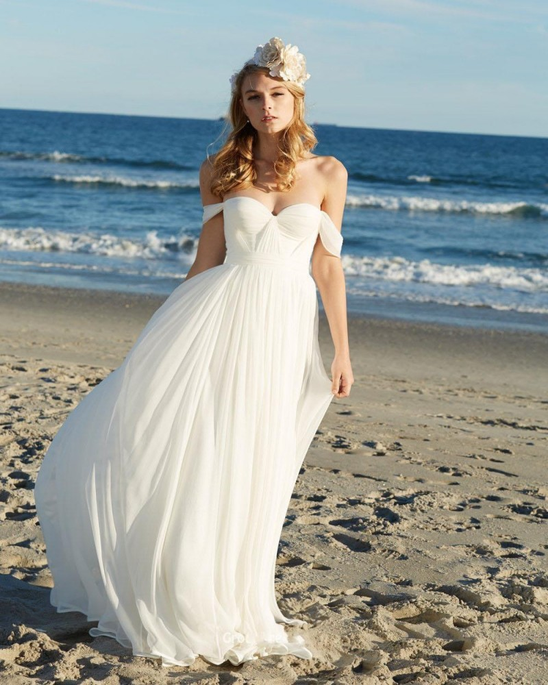 Beach Bridesmaid Dress, Bridal Dress for Beach Wedding, Hawaiian Wedding Shirts, Chiffon Beach Wedding Dresses, Beach Dresses Cheap, Informal Bridal Gowns, Sundresses for Beach Wedding Guests, Hawaiian Wedding Dresses for the Beach