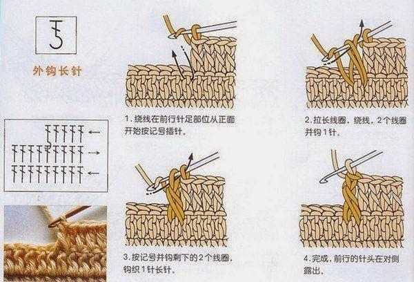 Схема вязания крючком: