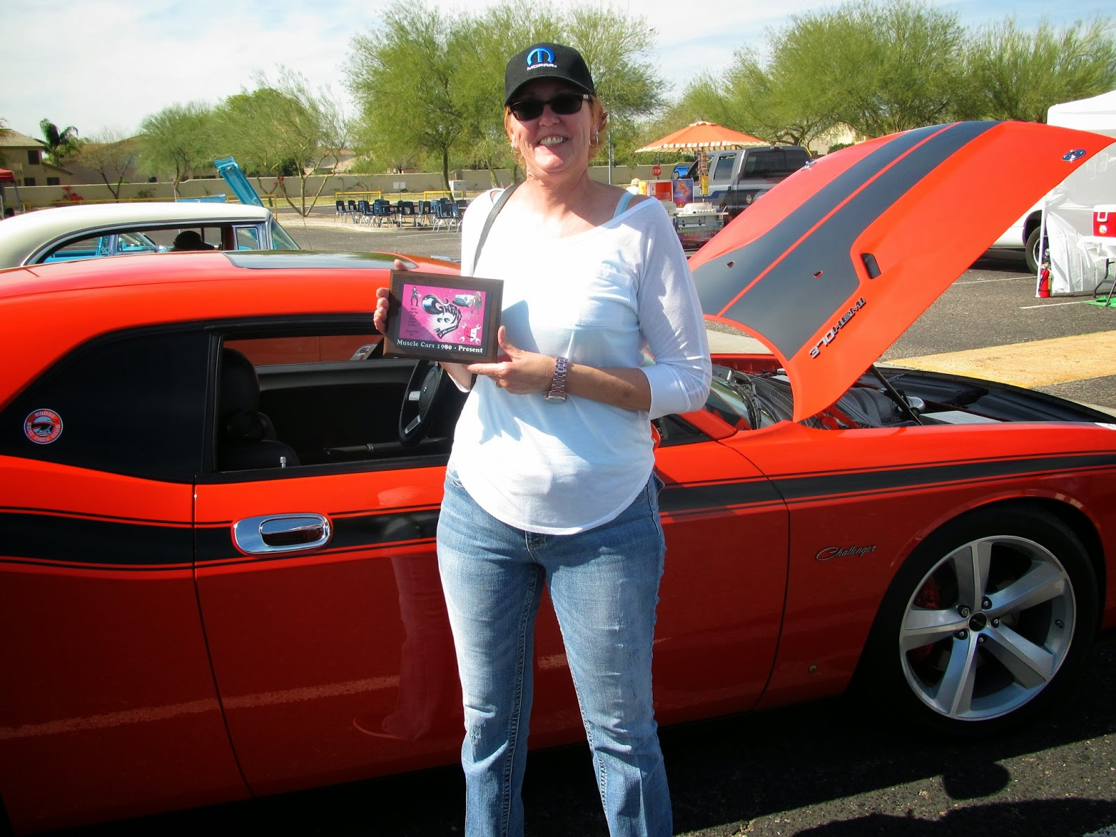 Car Show Award Jax Wax Customer