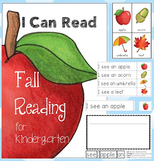 Learn to Read Fall Centers for Kindergarten