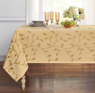 Leaf tablecloth