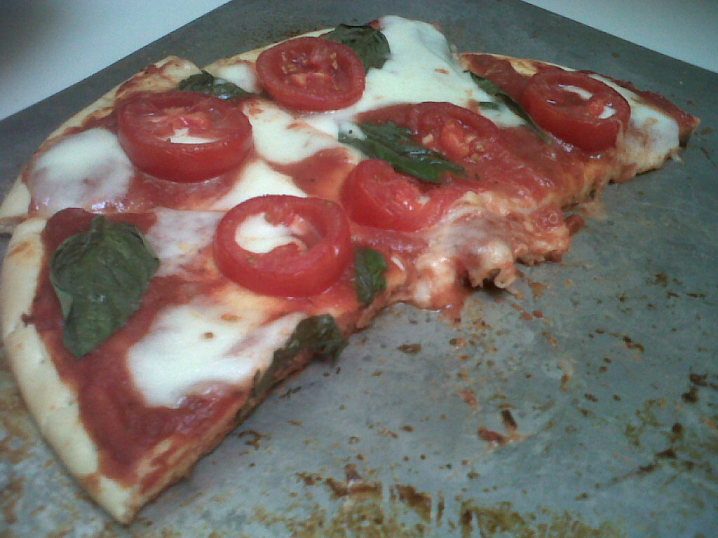 Pre made crust yup i went there