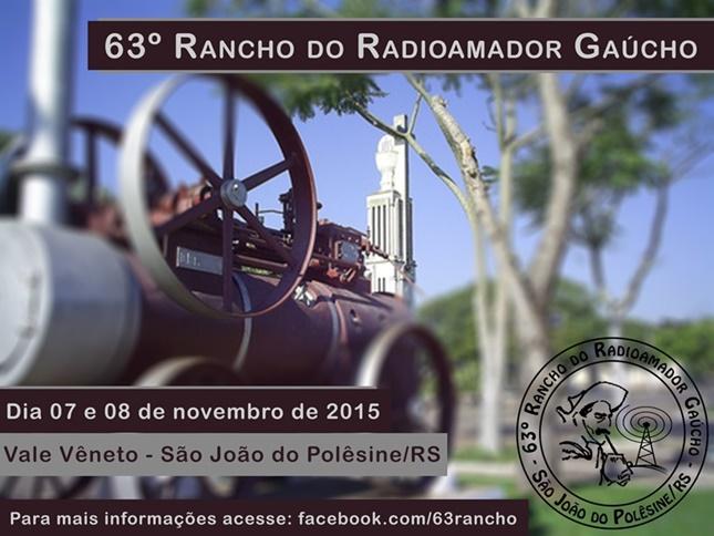 63º RANCHO DO RADIOAMADOR GAÚCHO