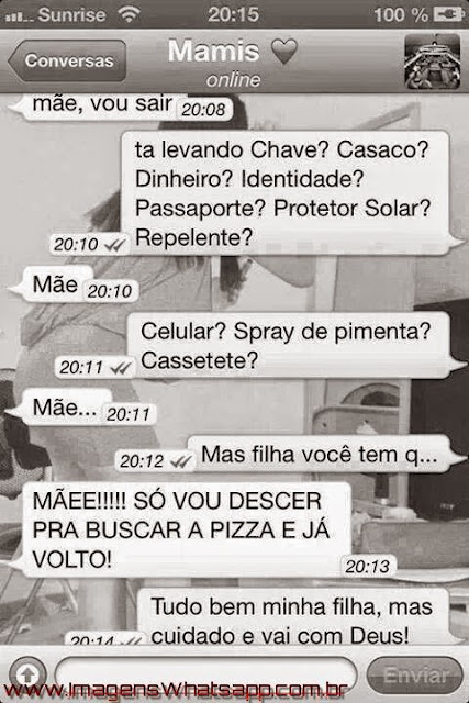 Conversas Engraçadas do Whatsapp