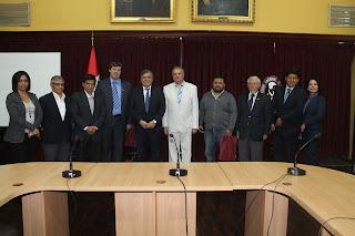 UNI se reunió con importante empresa rusa para coordinar posible capacitación en tecnologías de alta seguridad