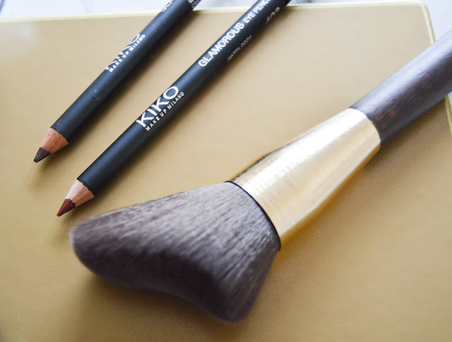 Kiko Glamourous Eye Pencil Modern Tribes Blusher Brush Review