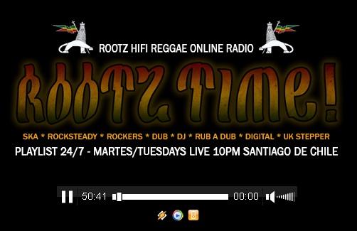 ROOTZ HI-FI REGGAE ONLINE RADIO