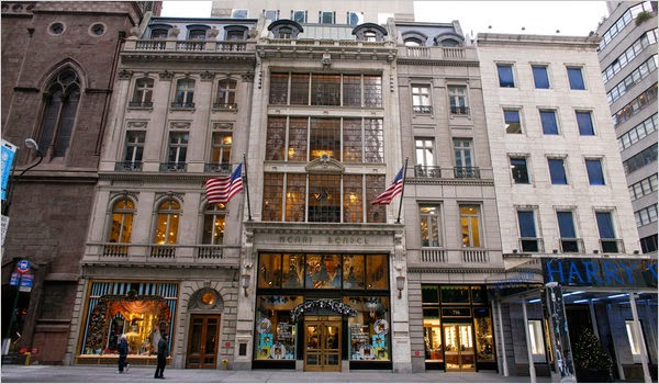 Loja de roupas Henri Bendel em Nova York