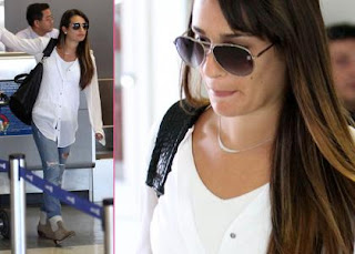 Big Apple Bound Lea Michele Brushes Off Emmy Snubs » Gossip | Lea Michele