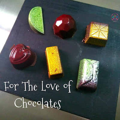 For The Love of Chocolates at the Academy of Pastry and Bakery Arts