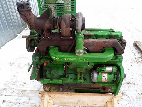 John Deere 4255 diesel engine 6076T for sale