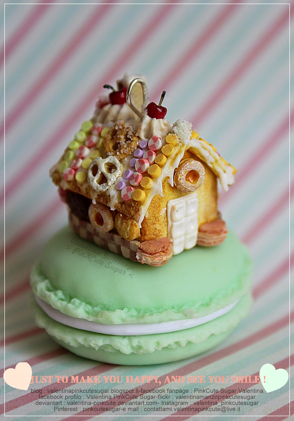 gingerbread house cookie house valentina gaia manzo pinkcute sugar