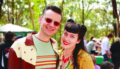Fifties Fair couple