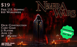 Nevera Wars deck construction card game Kickstarter launches July 10th