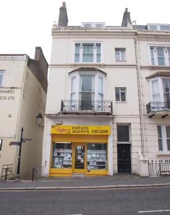 To rent commercial property in Hastings or St Leonards. eg 43 Cambridge Roa