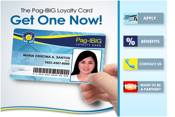 how to get a loyalty card from pag ibig