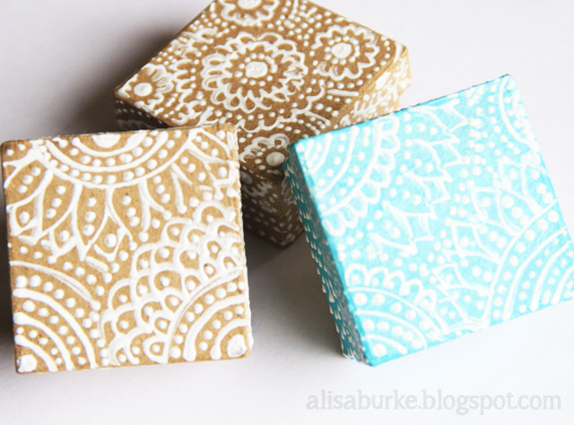 Alisaburke pretty painted gift boxes pretty painted gift boxes negle Images