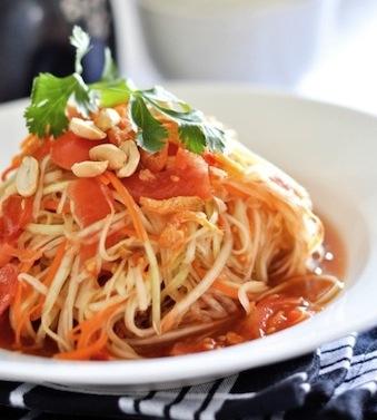 thai style papaya salad recipe