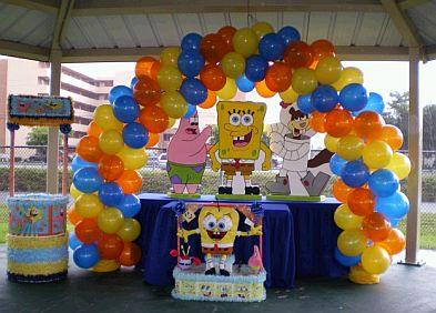 Fiestas infantiles decoraci n bob esponja - Decoracion bob esponja ...