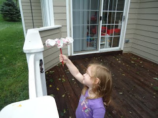 how to make a homemade anemometer for kids