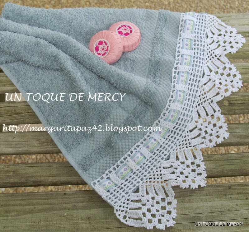 UN TOQUE DE MERCY: PUNTILLAS O BORDES DE CROCHET .. /GRAFICOS ...