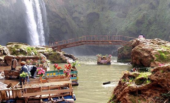 Ouzoud Waterfalls, camps and canoeing trips