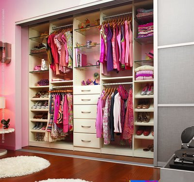 Decora el hogar closets modernos para jovenes y ni os for Walking closet modelo