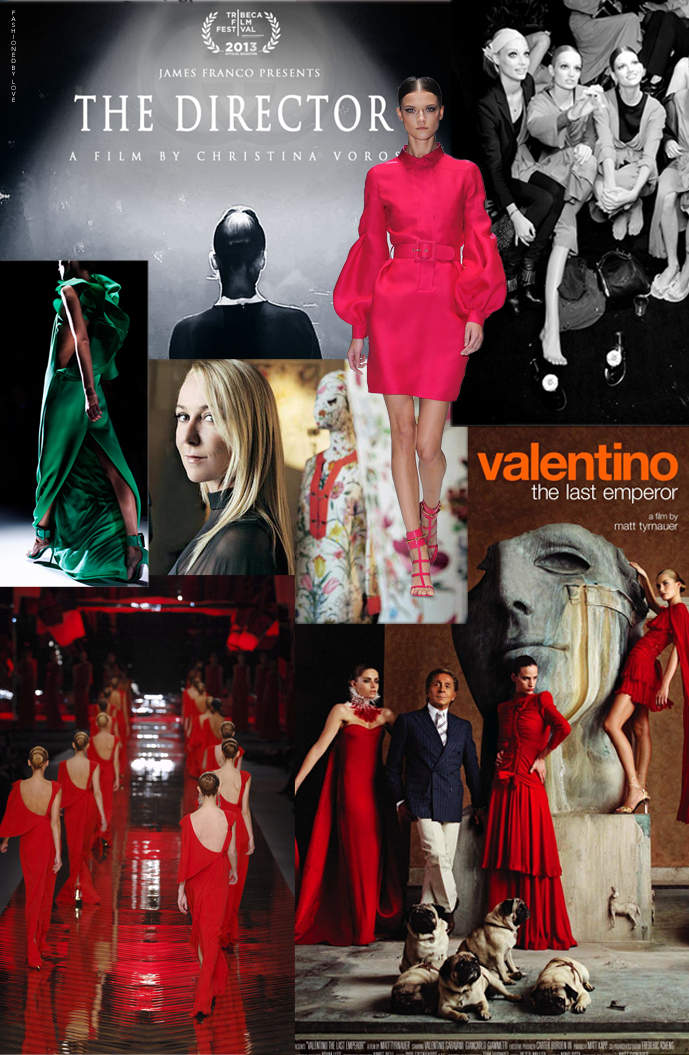 Best fashion documentaries to watch during Milan fashion week. Italian fashion designers in film. Frida Giannini Gucci: The Director and Valentino: The Last Emperor fashion documentaries review and preview. via www.fashionedbylove.co.uk british fashion blog
