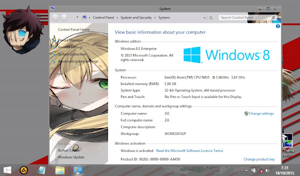 Kekkai Sensen (Theme Windows 8) 5