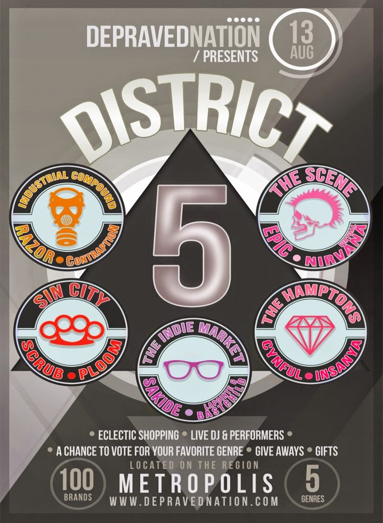 District 5 (Aug 13th - Sept 4th)