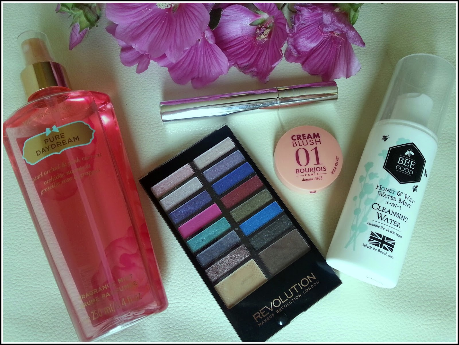 Images of favourites beuty products of June