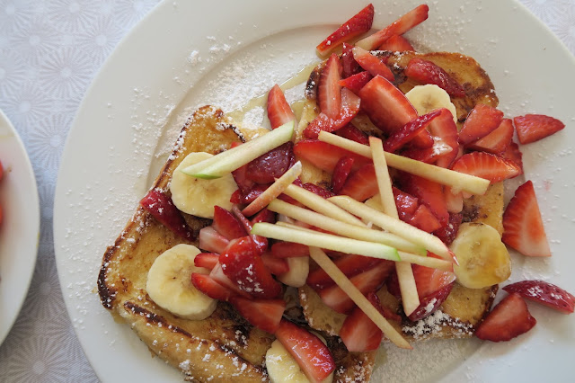 Fruit on French Toast