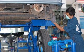 Berikut Tips Dan Cara Praktis Mengetahui Kerusakan Kaki-Kaki Mobil