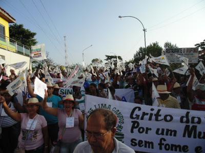 Manifestação em Coroatá (foto: Coroatá Conectado)
