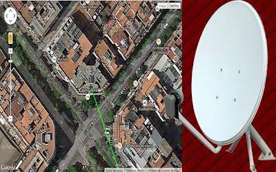 شاهد منزلك واحصل على إتجاه أي قمر اصطناعي من بيتك + الحصول على ترددات جميع القنوات