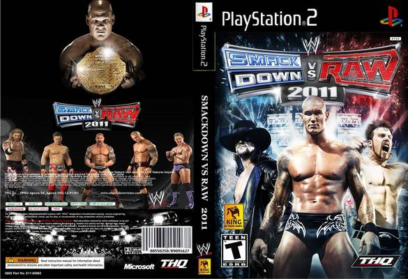 WWE SmackDown Vs RAW 2011[PS2] torrent download