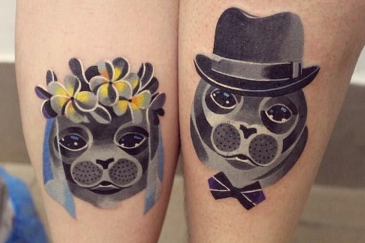 74 фото тату идеи для двоих или для пары Тату надписи - татуировки для влюбленных