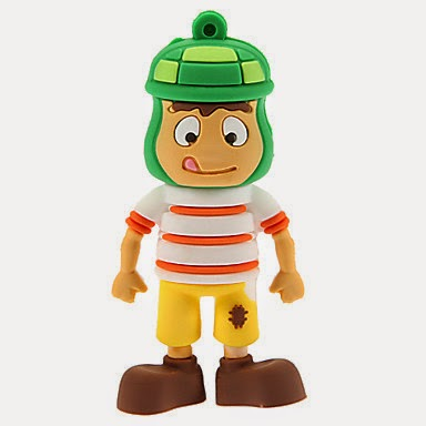 Pendrive 64 GB Personaje Cartoon estilo Chavo del Ocho