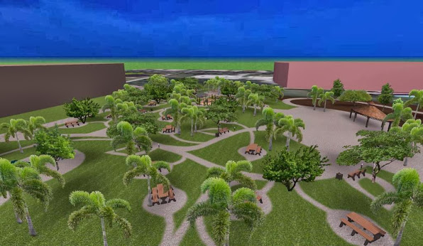 diseño 1 parque ecologico iluminacion noche foto 1