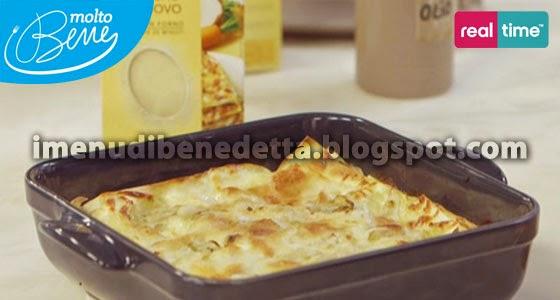 Lasagne con bufala e indivia la ricetta di benedetta parodi for Mozzarella in carrozza parodi