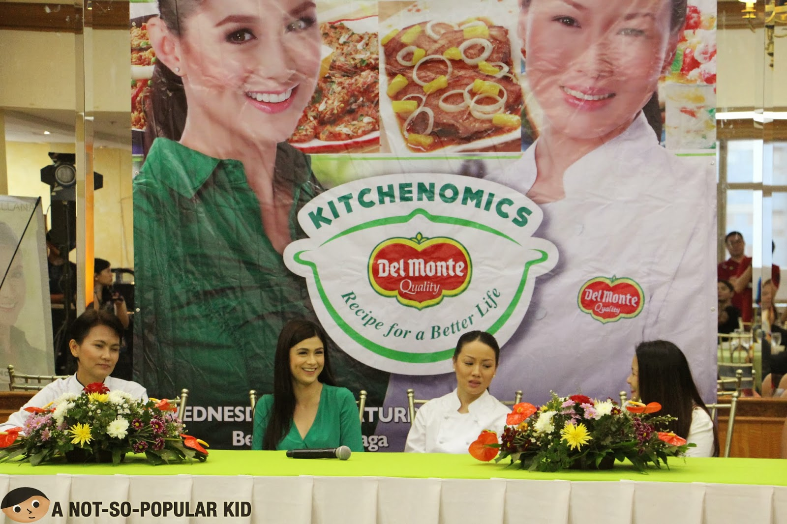 Del Monte Kitchenomics starring Ms. Carla Abellana and Chef Jackie Ang Po