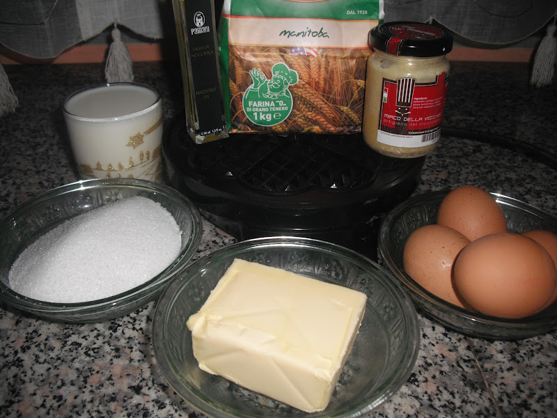La cucina di nonna elena waffer for Nonna t s cucina