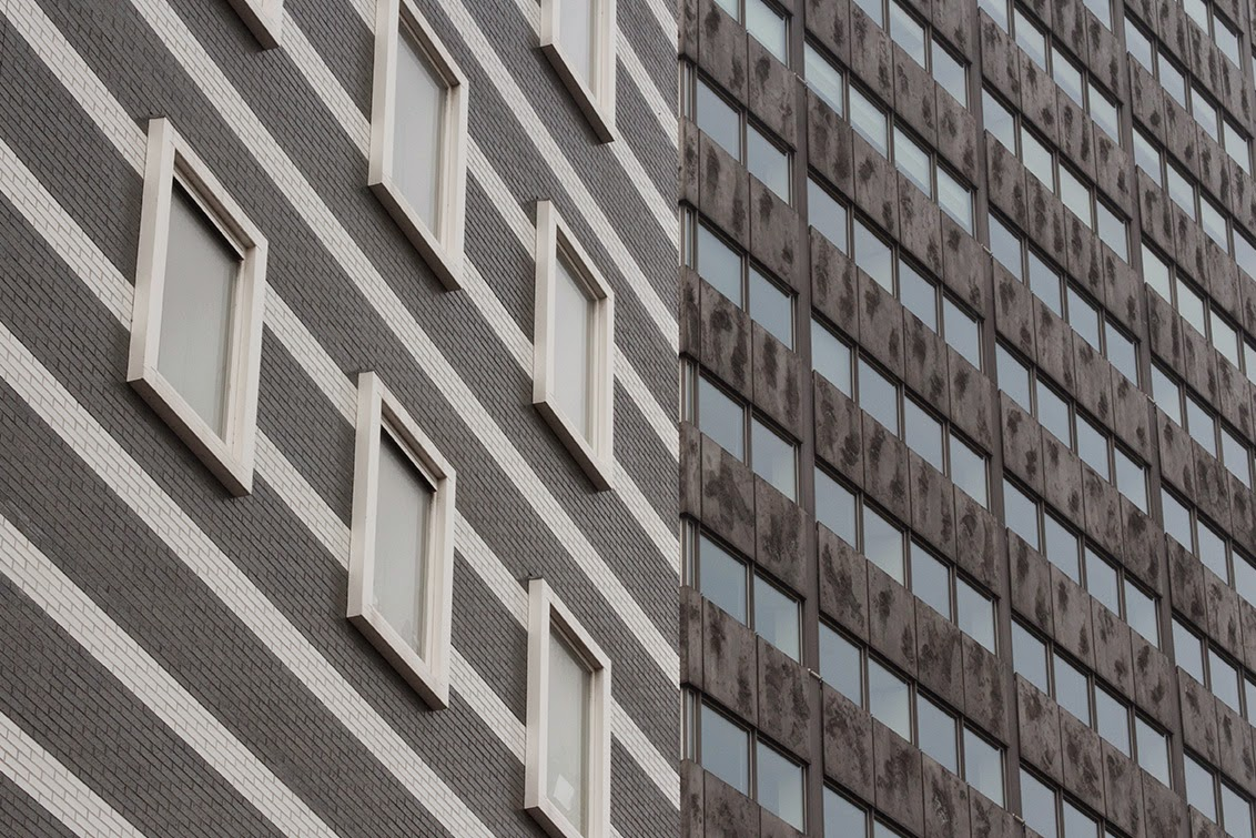 two kinds of patterns and buildings