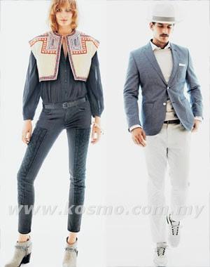 lifestyle, stylo, fashion, Bohemian, Serapan Bohemian H&M