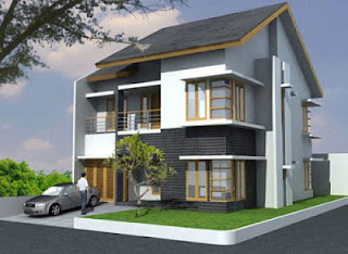 Design Rumah Minimalis Modern 2 Lantai keren