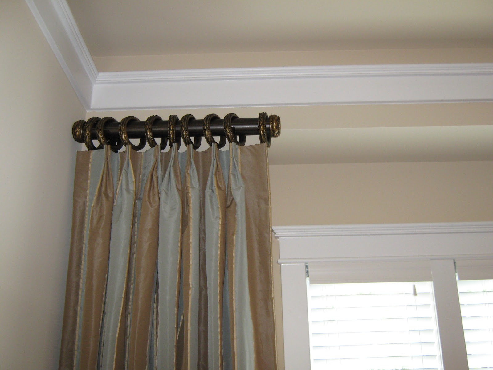 Outdoor Curtain Track System Wooden Window Curtain Rods