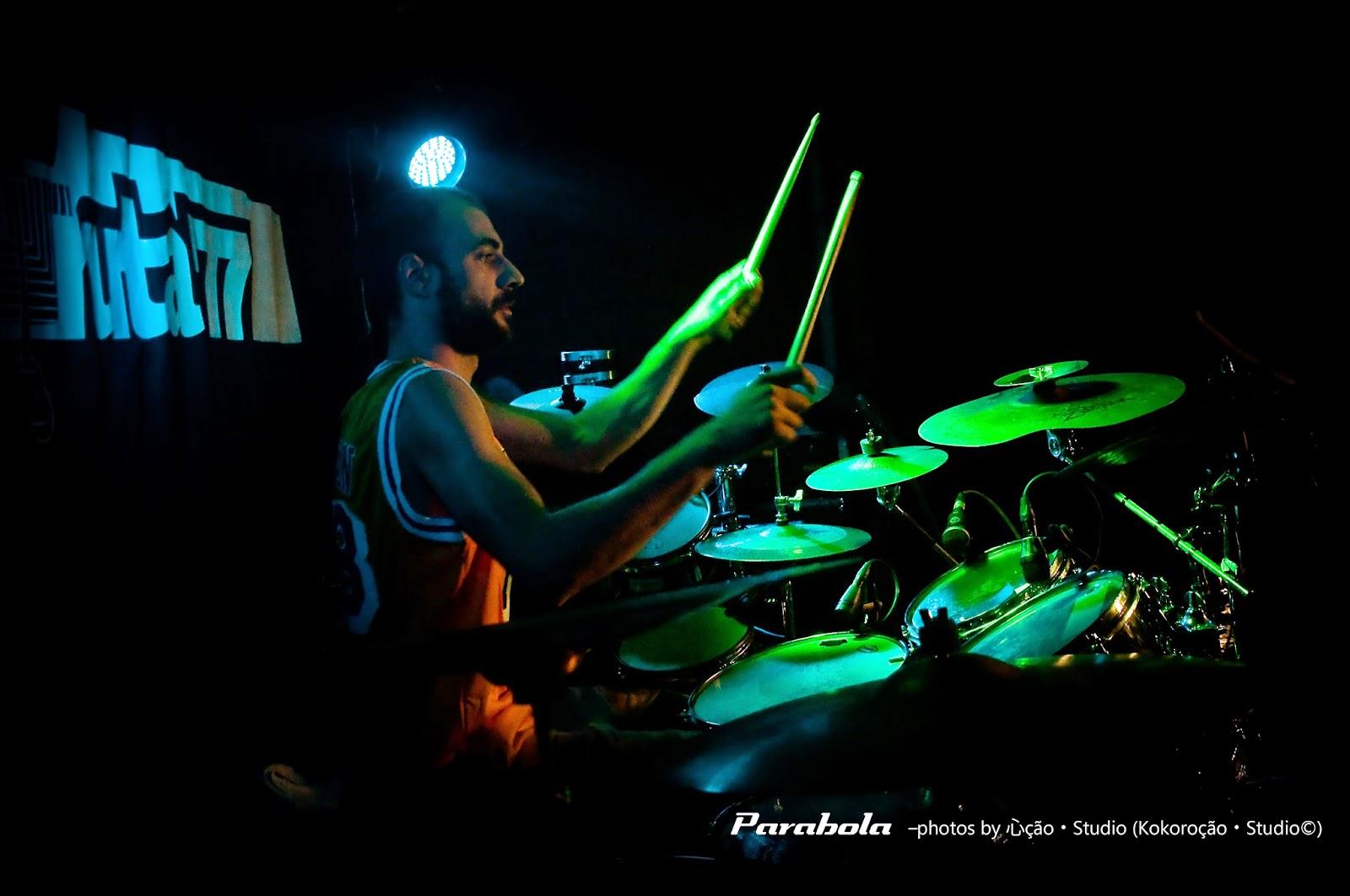 PHOTO SESSION - PARABOLA (TOOL TRIBUTE) LIVE AT GRUTA 77 - PART. 2