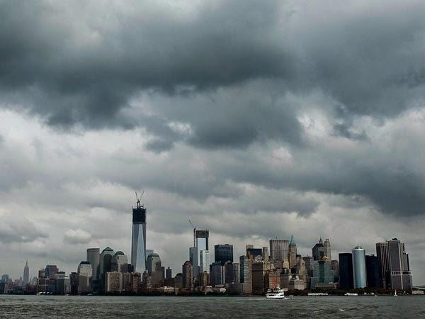 Imagenes del antes y el despues de Sandy por EEUU